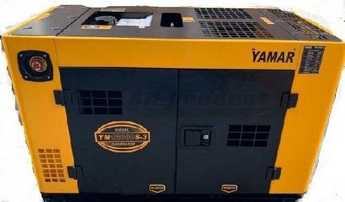גנרטור דיזל 12KVA תלת פאזי מושתק לחירום YAMAR