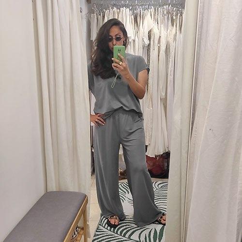 מכנסי מדו - אפור