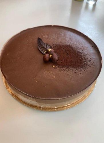 סוכרה דה קלואה - שכבות אגוזי לוז ושוקולד