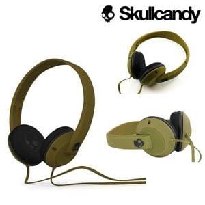 אוזניות קשת עם מיקרופון ירוק צבאי 2.0 Skullcandy UPROAR