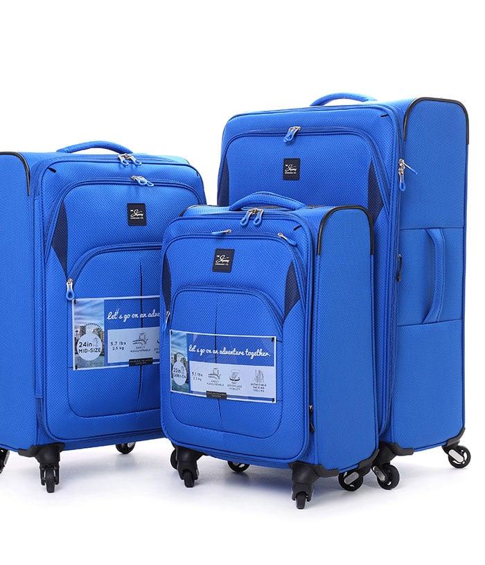 סט מזוודות קלות SKYWAY