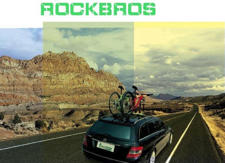 מתקן נשיאה ROCKBROS Treefrog מהפכני לנשיאת אופניים בוואקום מותאם לכל סוגי הרכבים והגגות
