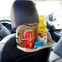 מגש מתקפל למושב האחורי ברכב