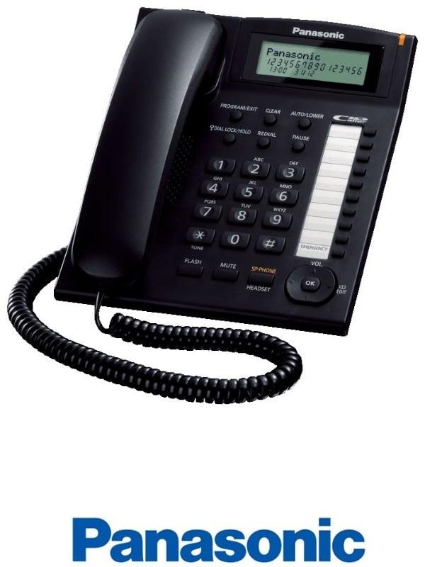 Panasonic טלפון שולחני חכם דגם KXTS880MXB