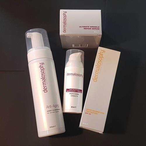 Summer skin renewal kit 4 products DERMALOSOPHY