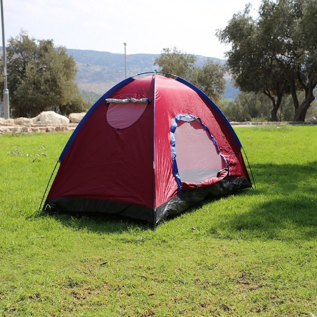 אוהל לזוג 2 חלונות