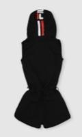 אוברול אופנה שחור נערות מידות 6-16