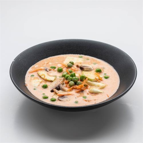 מרק קוקוס ירקות זוגי