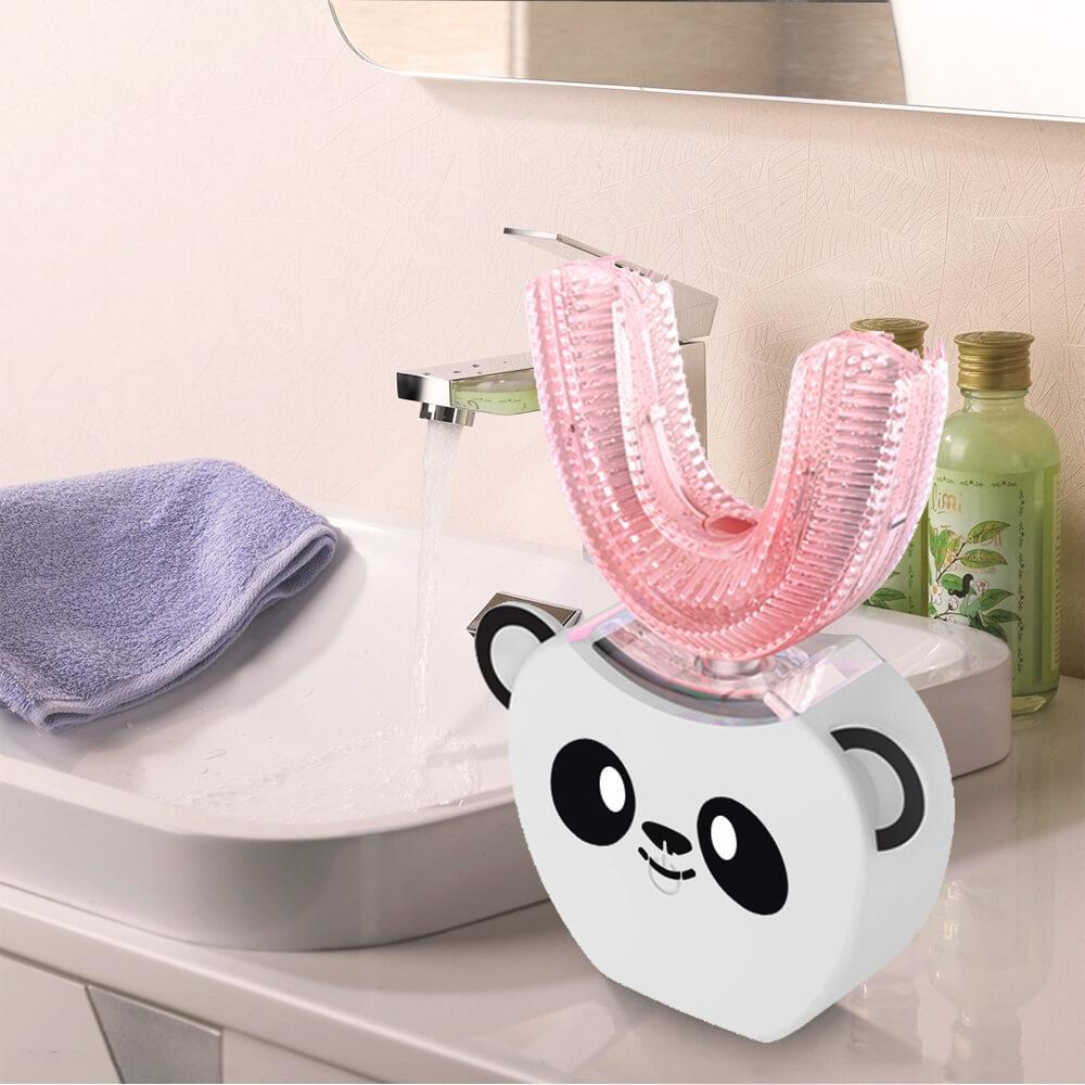 מברשת שיניים עם ציור של דובי