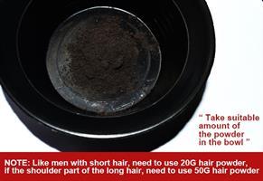 צבע אורגני שחור לשיער ללא אמוניה וללא חמצן