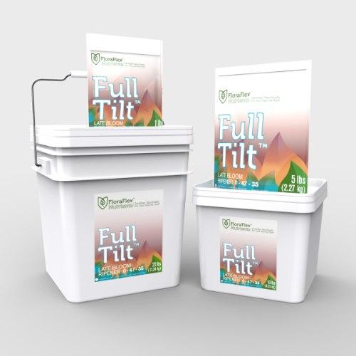 "תוסף פריחה FULL TILT פלורה פלקס שקית 1 ק""ג floraflex nutrients"