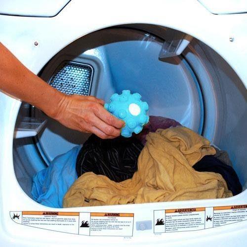 הכדור שיגהץ לכם את הבגדים היישר בתוך המכונת כביסה - 2 כדורים בחבילה