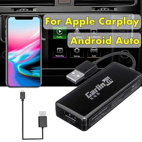 מתאם לתוסף CarPlay/Android Auto לרכב מתאים לאייפון ואנדראויד