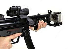תושבת לרובה למצלמות אקסטרים SJCAM ו- GOPRO - ג׳יפר