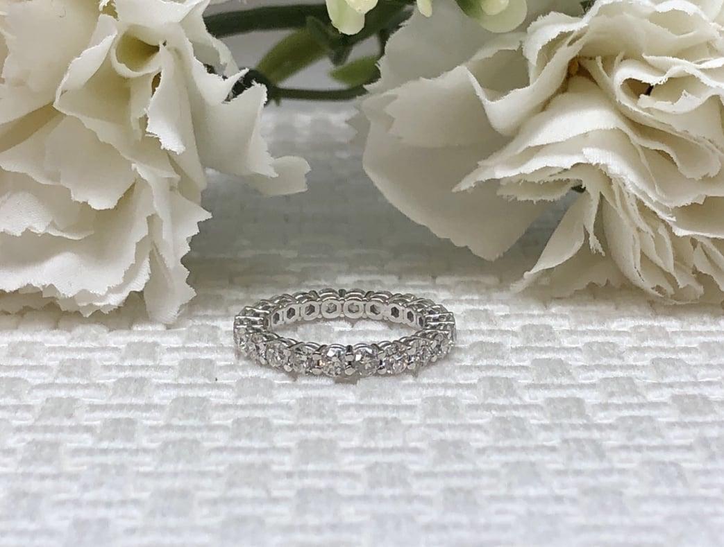 טבעת יהלומים איטרניטי | טבעת נצח | טבעת משלימה 2.30 קראט
