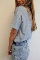 חולצת קקטוס כחולה