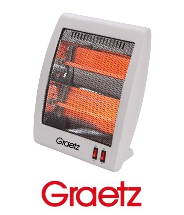 Graetz תנור חימום 2 ספיראלות דגם GR1005