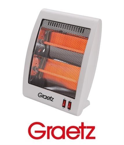 Graetz תנור חימום 2 ספיראלות דגם GR-1005