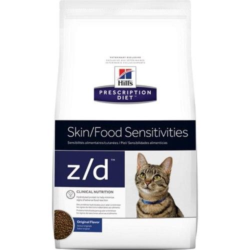 """מזון רפואי לחתולים הילס Z/D 2 ק""""ג Hill's Prescription Diet Z/D"""