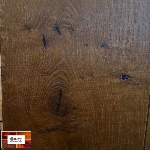 פרקט עץ אלון אירופאי מעושן בגמר שמן