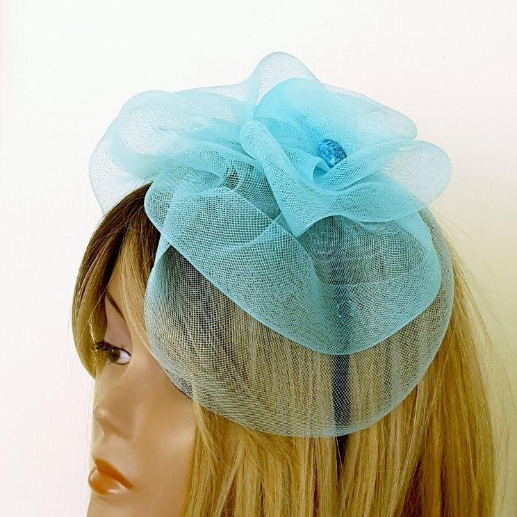 כובע מעוצב לנשים טורקיז