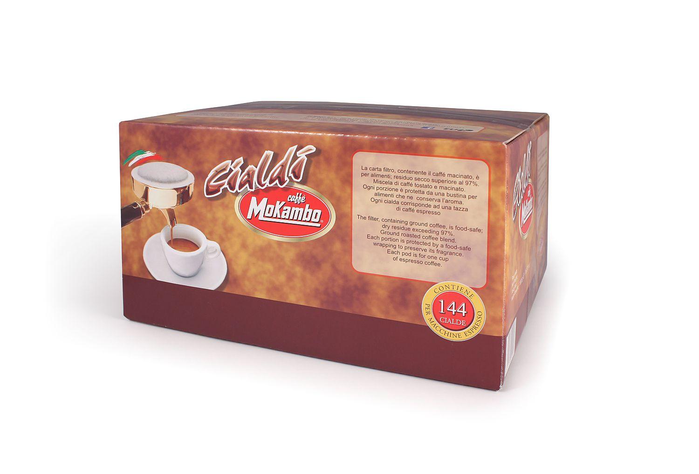 פודים מוקמבו 144 יח' - Mokambo Espresso