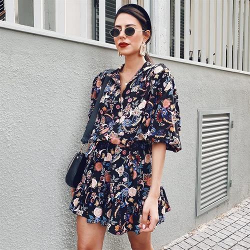 שמלת ג׳ודית - פרחונית