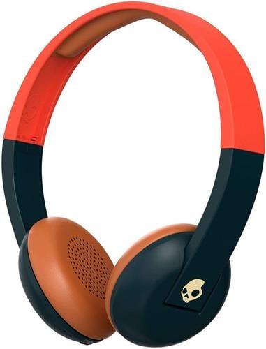אוזניות קשת אלחוטיות עם מיקרופון כחול Skullcandy UPROAR
