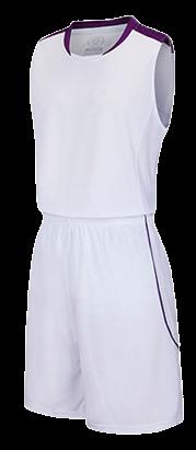 תלבושת כדורסל בעיצוב אישי White דגם #6018