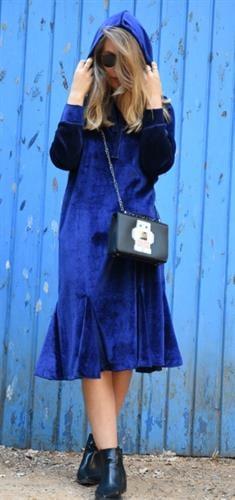 שמלת ריין כחול