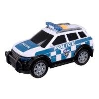 רכב משטרה 4x4 נוסע