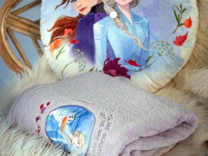 מגבת רחצה לילדים אלזה מבית ורדינון