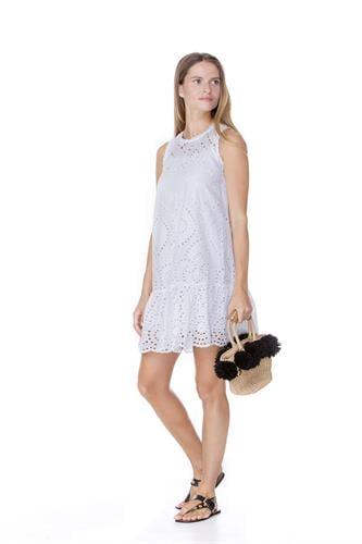 שמלת נועה לבנה