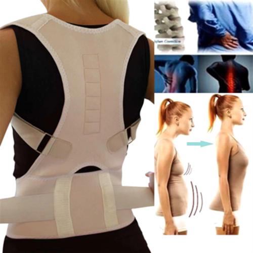 חליפת חגורת גב מלאה ליישור הגב / כתפיים והפחתת כאבים