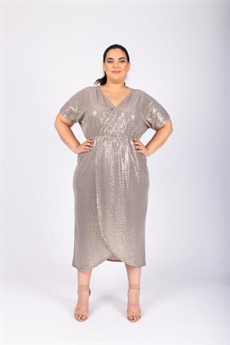 שמלת לורנה שמפניה