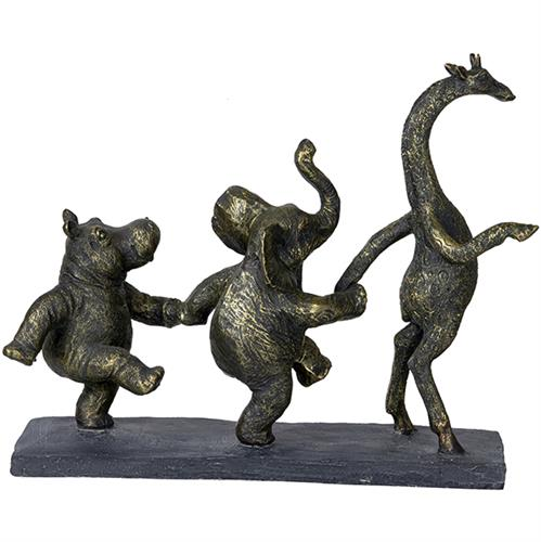 פסל אומנותי 'קרנבל' מבית GRACIA GALLERY