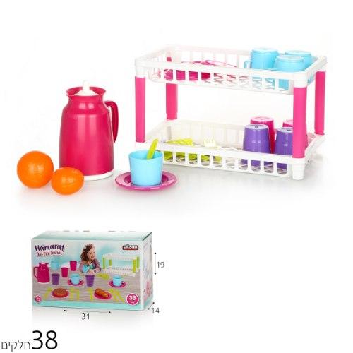 מייבש כלים צעצוע שתי קומות