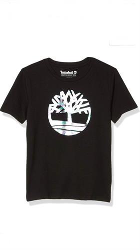 חוולצה שחורה לוגו הולגרמה timberland