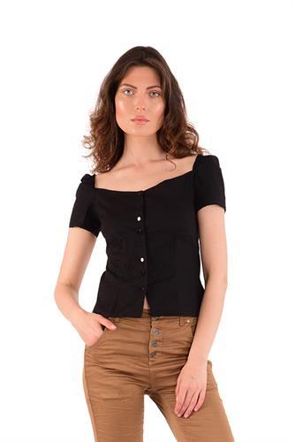 חולצה ניקי שחור