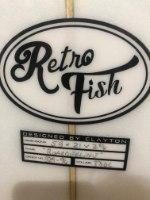 CLAYTON RETRO FISH5.8