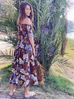 שמלת מידי ריטה רומנטית