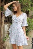 שמלת מדריד מעטפת וולן