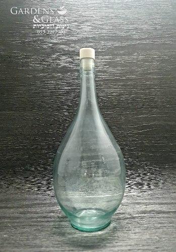 בקבוק זכוכית 2 ליטר