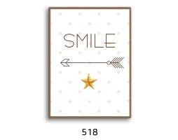 סט של 4 תמונות השראה חדר ילדה / נערה דגם 028