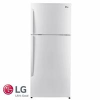 LG מקרר מקפיא עליון 381 ליטר דגם: GR-B440INVW גוון לבן מתצוגה !