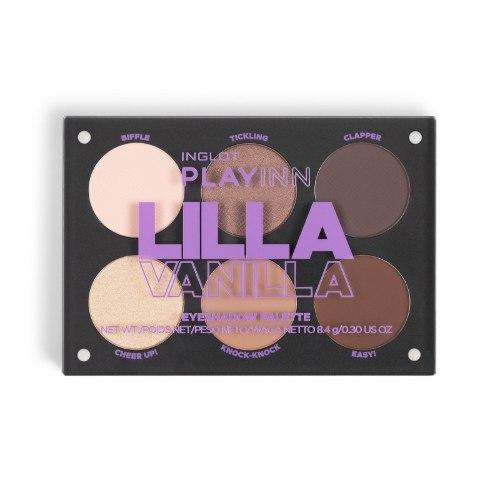 פלטה מגנטית ייחודית המכילה 6 צלליות - PLAYINN Lilla Vanilla