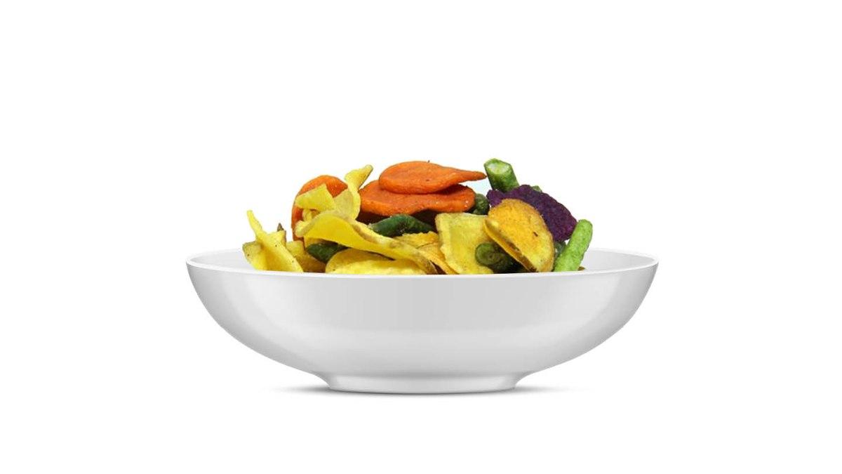 חטיף על בסיס תערובת ירקות בטעם טבעי 100 גרם