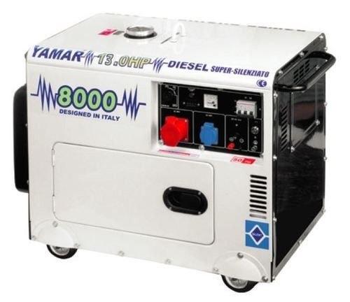 גנרטור 8000W תלת פאזי מושתק YAMAR