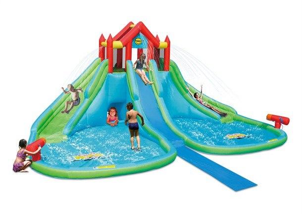 מתקן מתנפח מגלשת מים ענקית פארק המים דגם 9283 הפי הופ Happy hop - קפיץ קפוץ