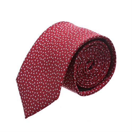 """עניבה """"רוגטקה"""" אדום כהה"""